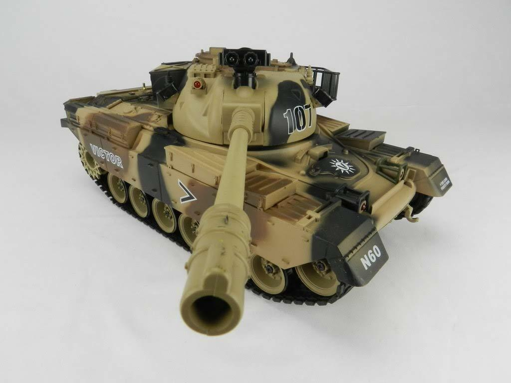 Scale R/C Simulating Battle Tank (Victor)