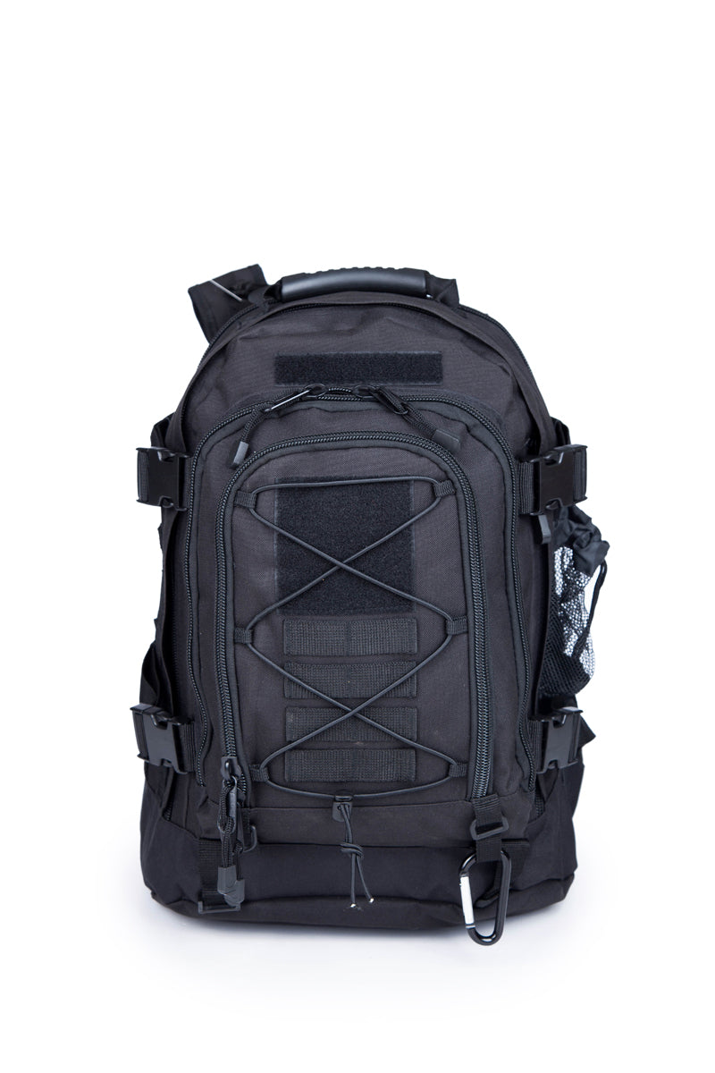 3 Day Expandable and Hydration Backpack - Black