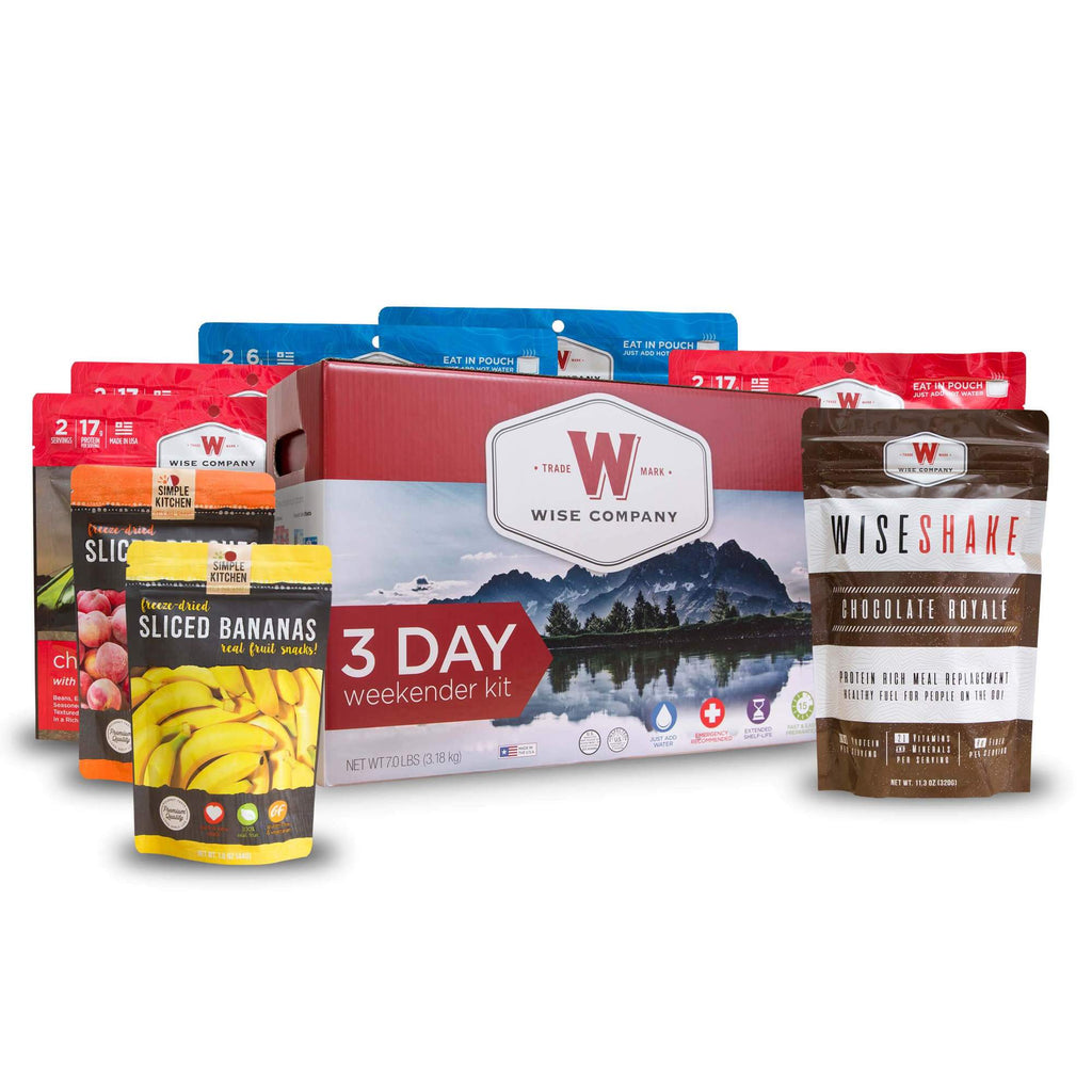 Food Kit -  3 Day Weekender