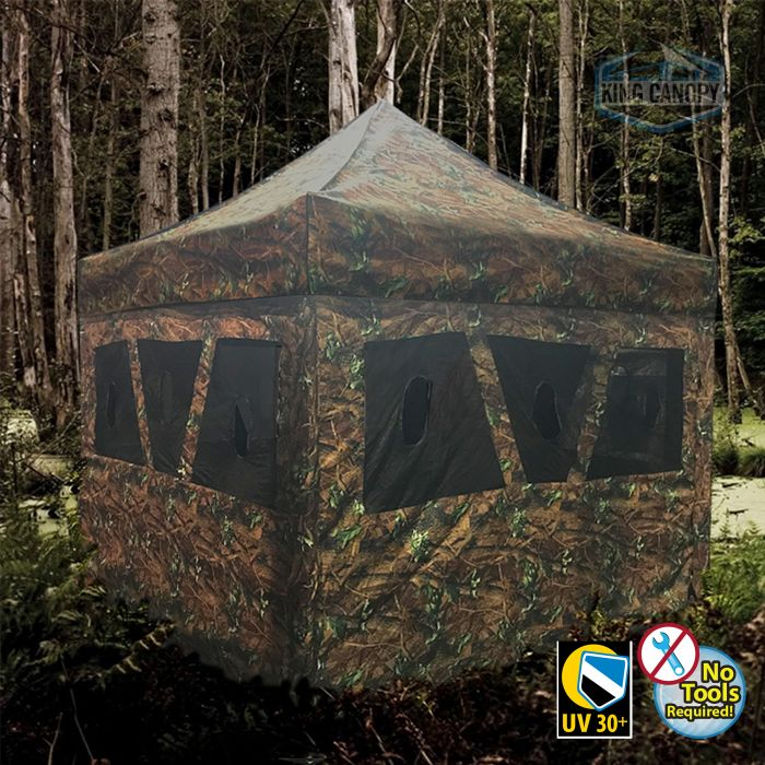 Hunting Blind & Instant Pop Up Tent (10 ft X10 ft)