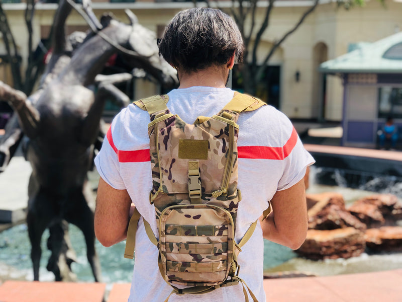 Lightweight Hydration Backpack (Desert Camo)