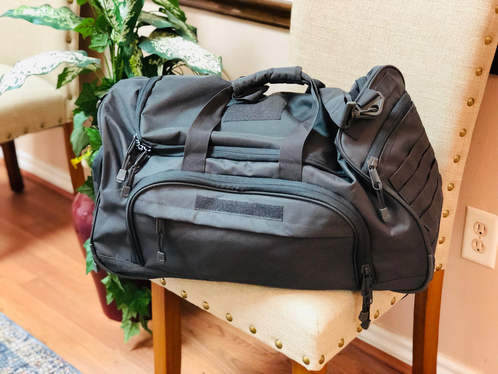 Duffel Locker Bag - Graphite Green