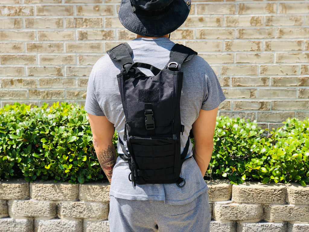 Lightweight Hydration Backpack (Black)