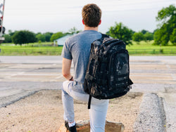 3 Day Expandable Backpack - Black Camo
