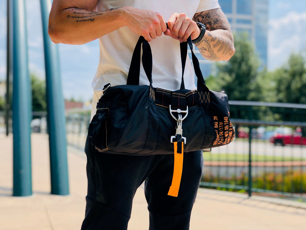 Parachute Light Duffel Bag - Black