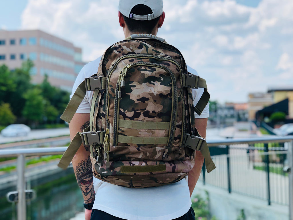 3 Day Expandable Backpack - ACU Camo