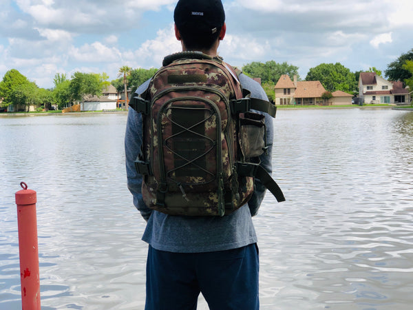 3 Day Expandable and Hydration Backpack - Digital Camo
