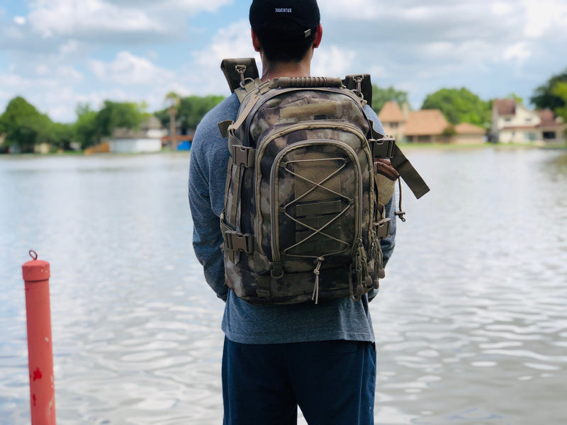3 Day Expandable and Hydration Backpack - Desert Camo