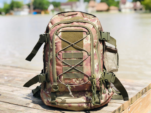 3 Day Expandable and Hydration Backpack - Italy Camo