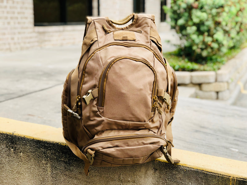 Heavy Duty Urban Backpack - Coyote