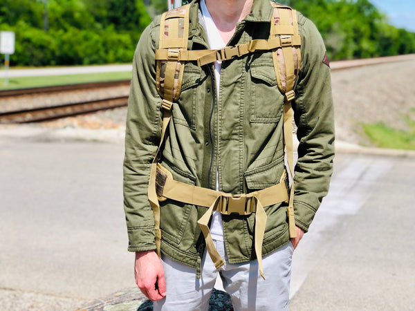 Heavy Duty Urban Backpack - Desert Camo
