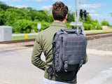 Laptop Backpack - Graphite Green