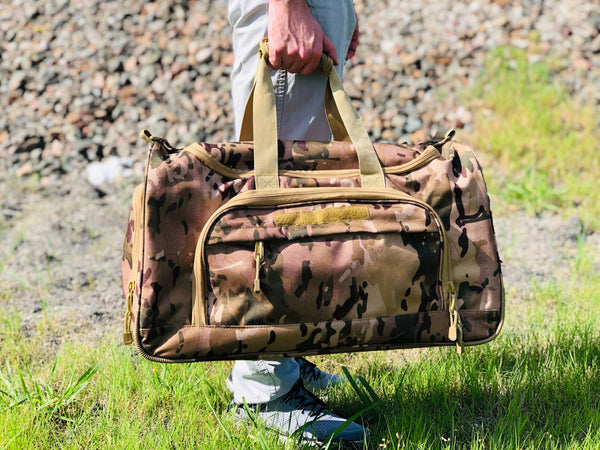 Duffel Locker Bag - Desert Camo