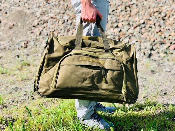 Duffel Locker Bag - Olive