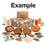 MRE Meals - Case of 12 Single Complete Meals