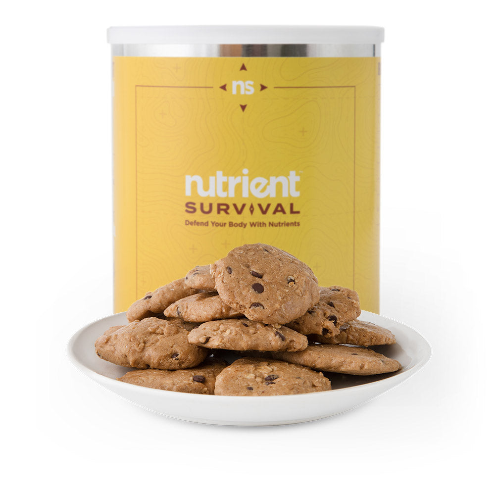 Nutrient Survival Chocolate Chip Cookie Meals