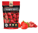 Freeze-Dried Strawberries - 6 Pack