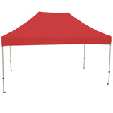 ATHENA 10X15 WHITE FRAME Instant Pop Up Tent w/ RED Cover