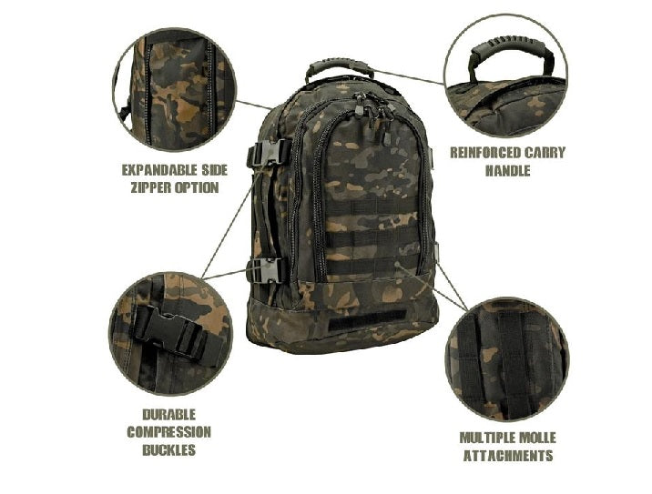 Backpack 3 Day Expandable