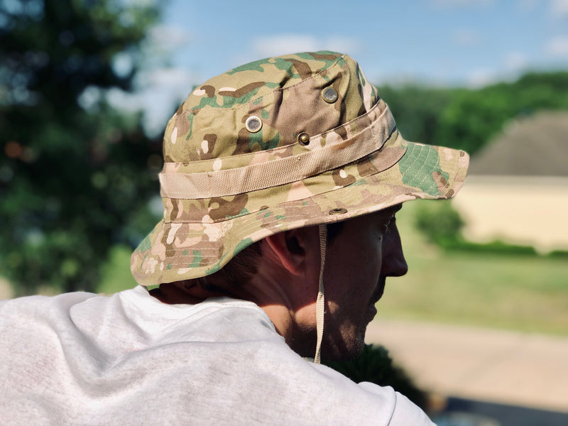 Boonie Hat - Coyote Camo
