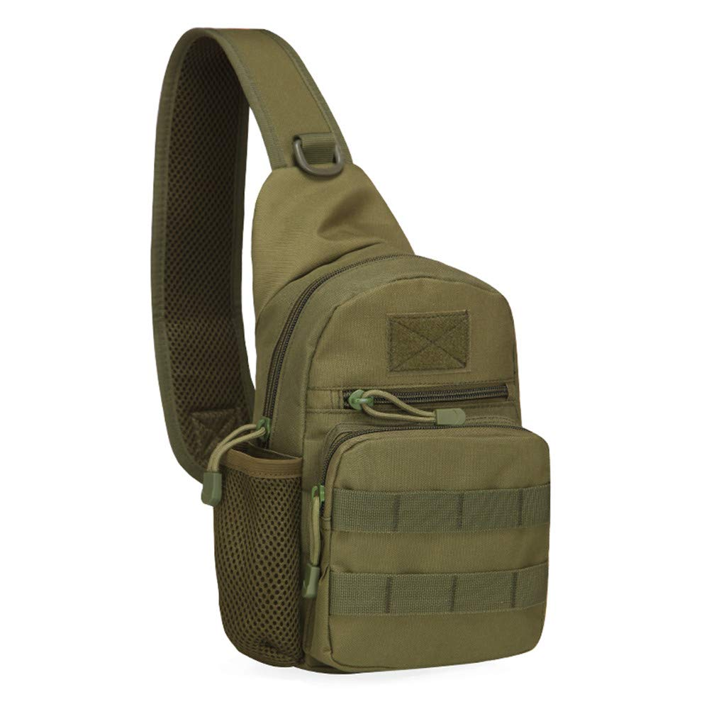 Tactical Shoulder Sling Bag (ODG)