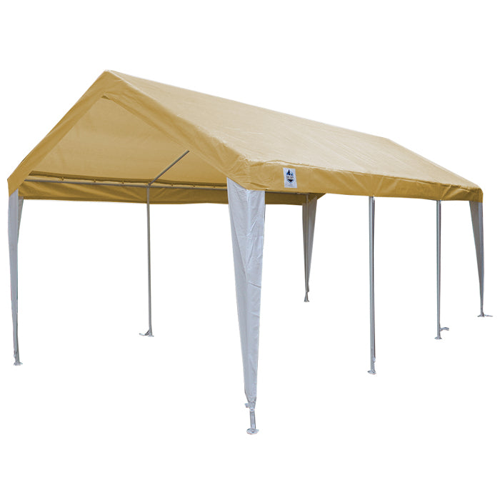 Hercules Express 10 x 20 Canopy w/Tan/White Cover