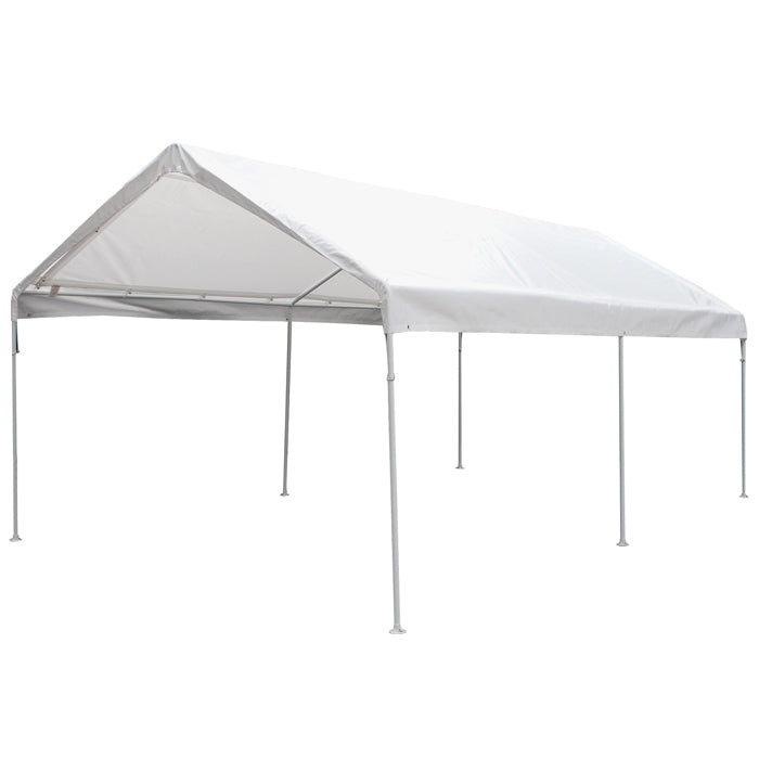 Universal 6 Leg 10X20 Canopy w/ WHITE Cover
