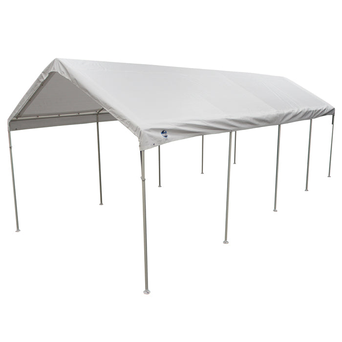 Universal 10 Leg 10X27 Canopy w/ WHITE Cover