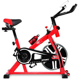 Stationary Exercise Bike Adjustable Bike for Cardio Fitness