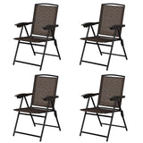 Folding Sling - Chairs with Steel Armrest and Adjustable Back