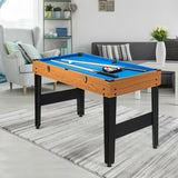 3-In-1 Combo Game Table Soccer Billiard Slide Hockey