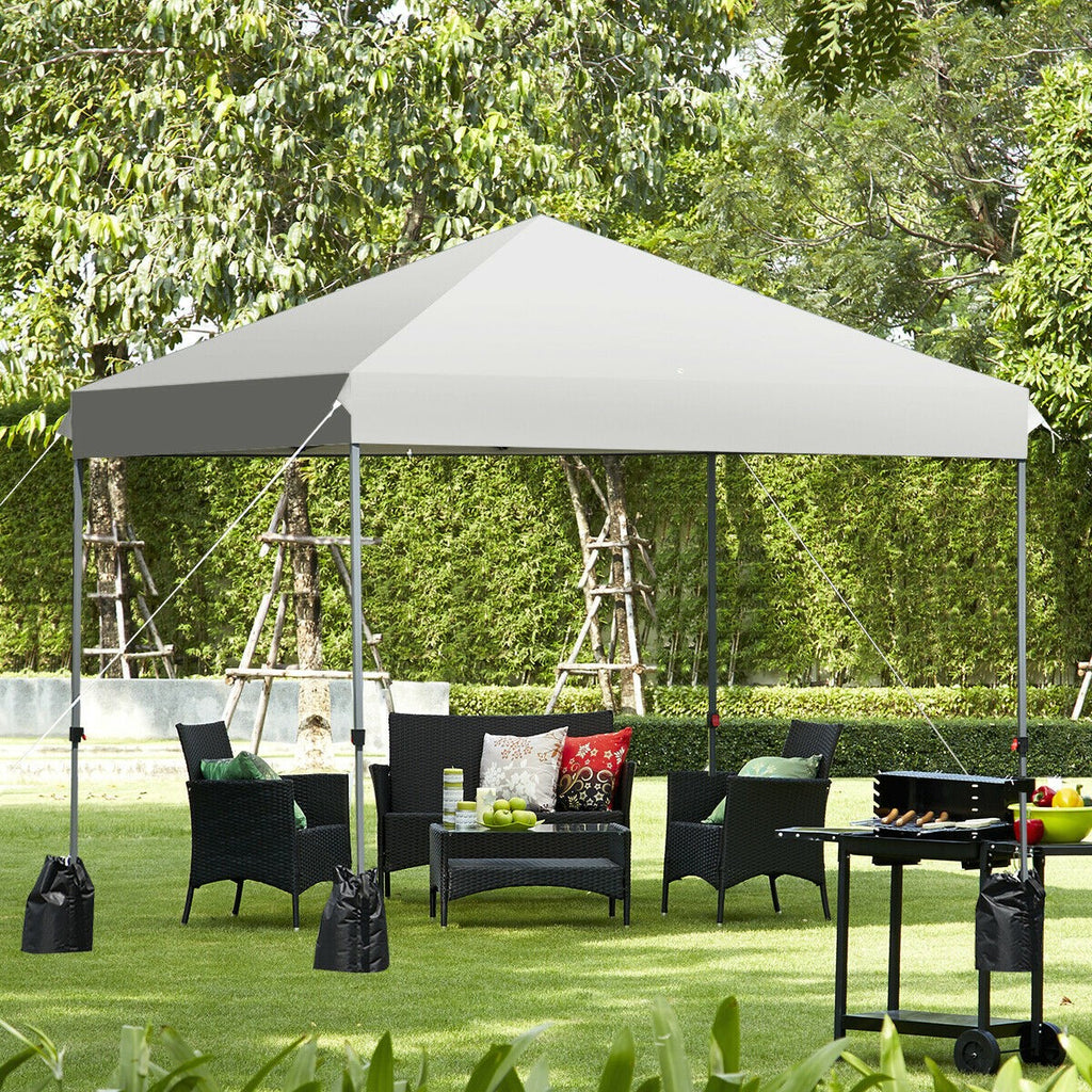 8' x 8' Outdoor Pop up Canopy Tent w/ Roller Storage