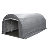 10 ft x 20 ft x 8 ft Dome Garage, 245gsm
