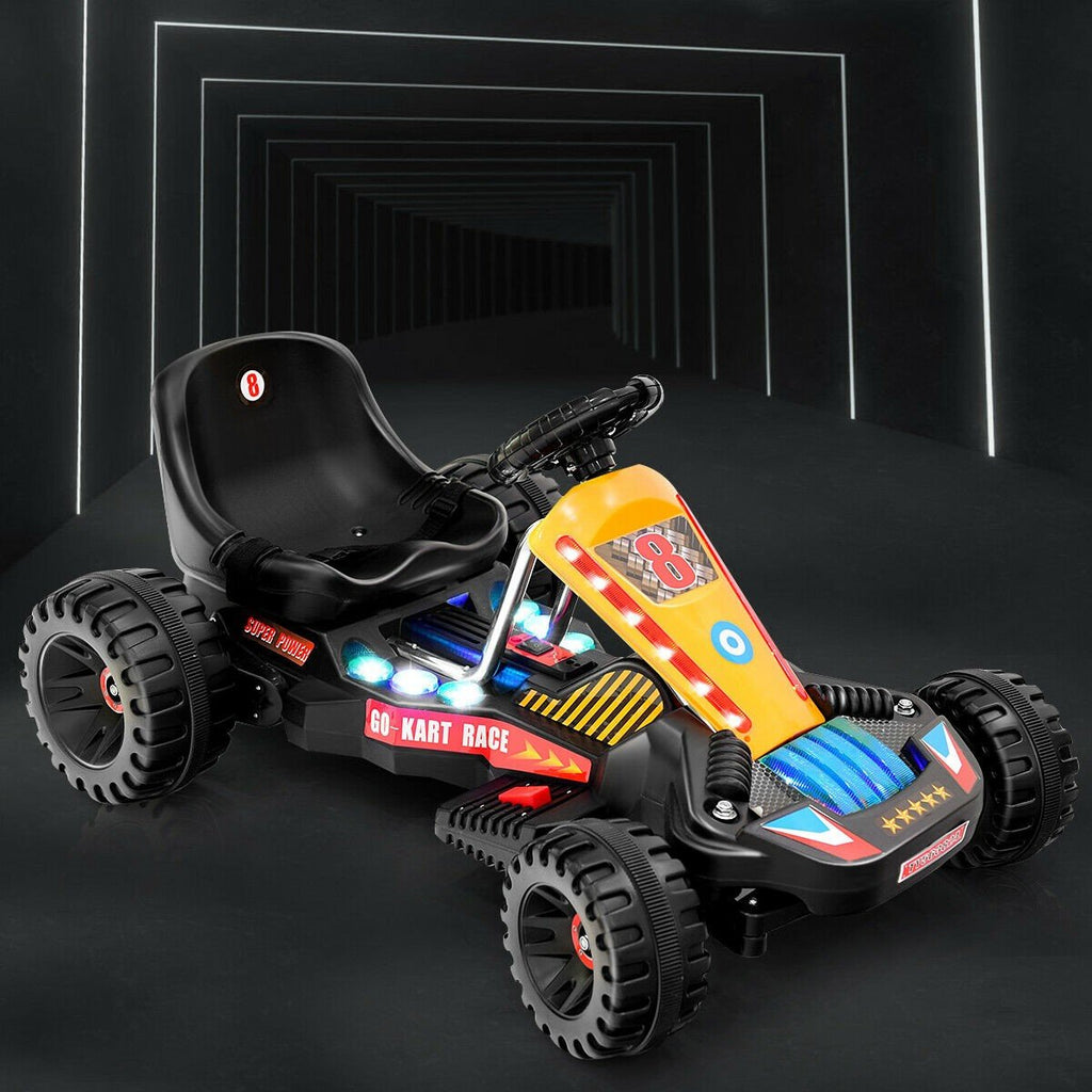 Kids Ride-on Go Kart 4-Wheel Electric Powered Go Cart