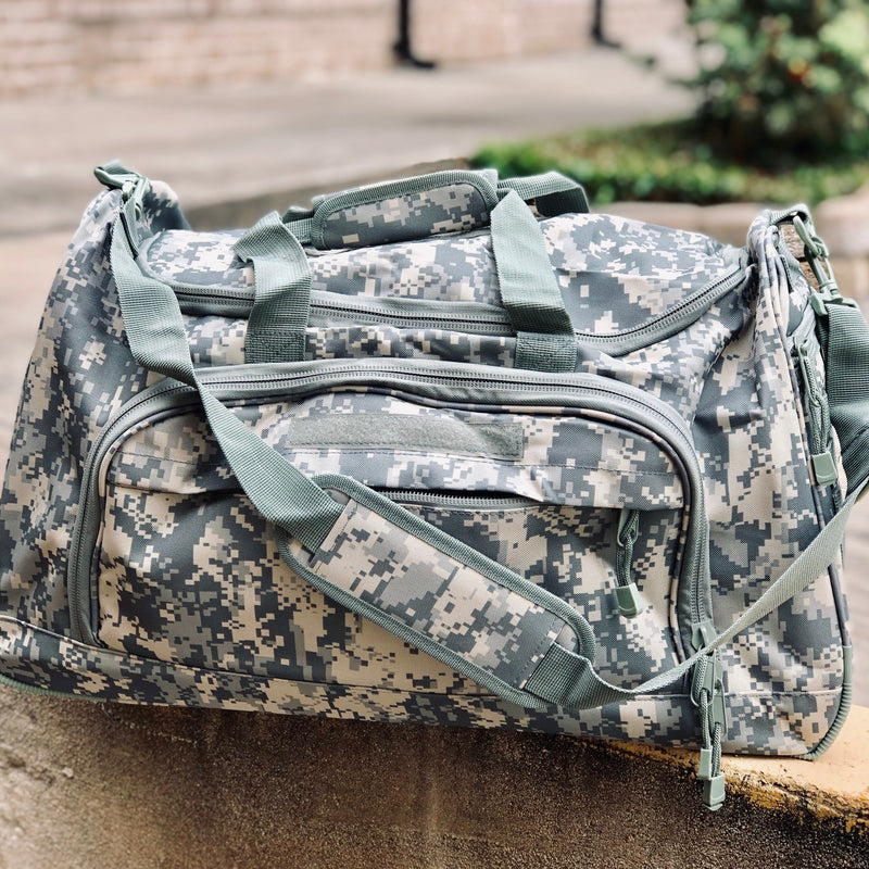 Duffel Locker Bag - ACU Camo