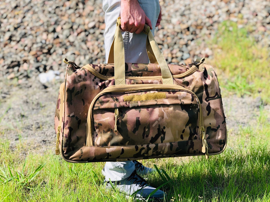 Duffel Locker Bag - Gym Bag - Travel Bag - Carry On Bag