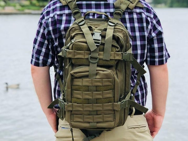 Assault Backpack - Olive