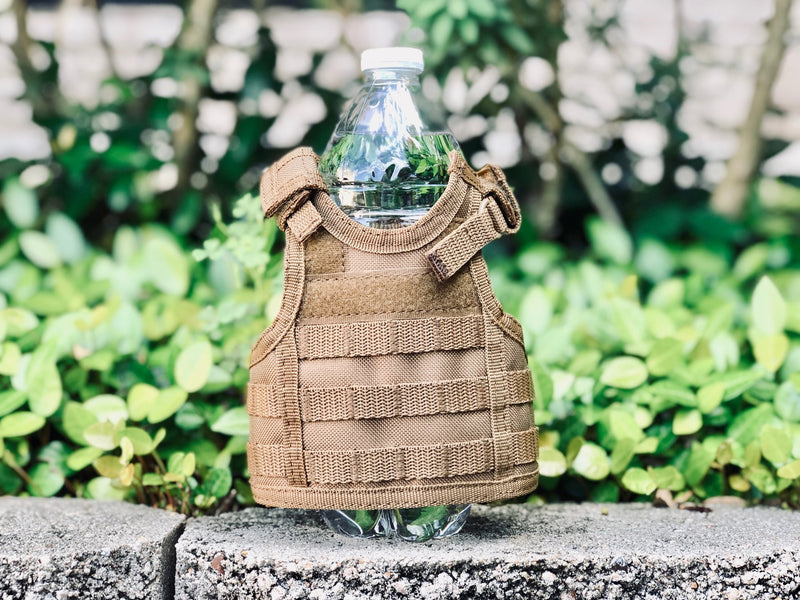 Mini Tactical Vest - Olive