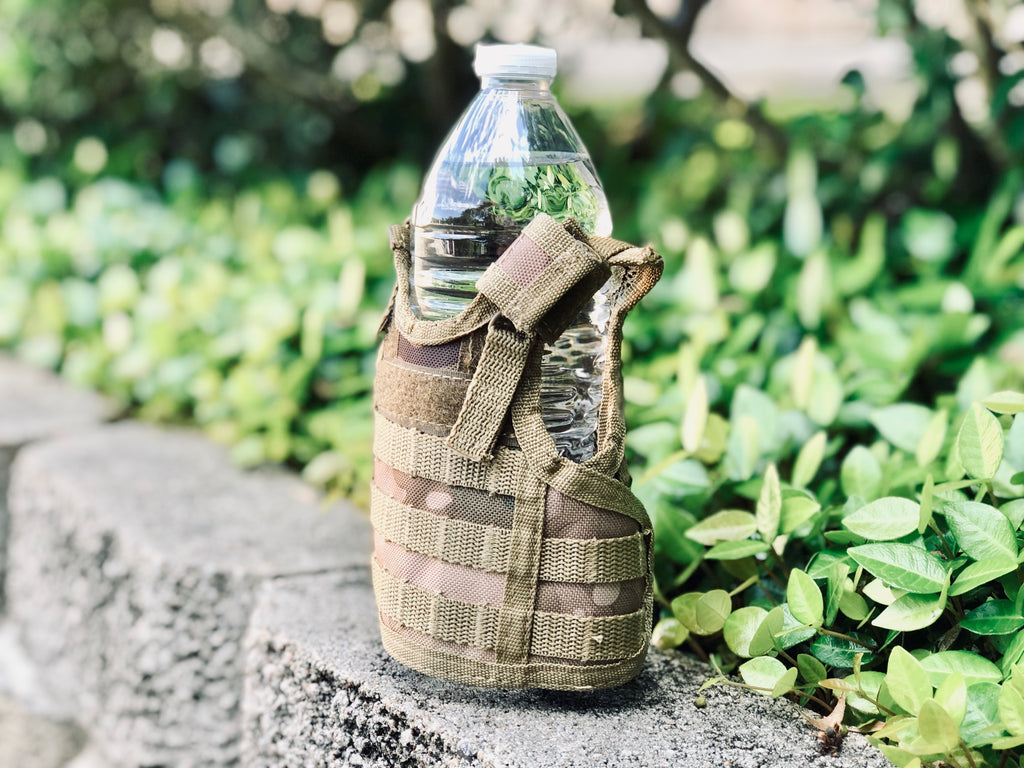 Mini Tactical Vest - Desert Camo