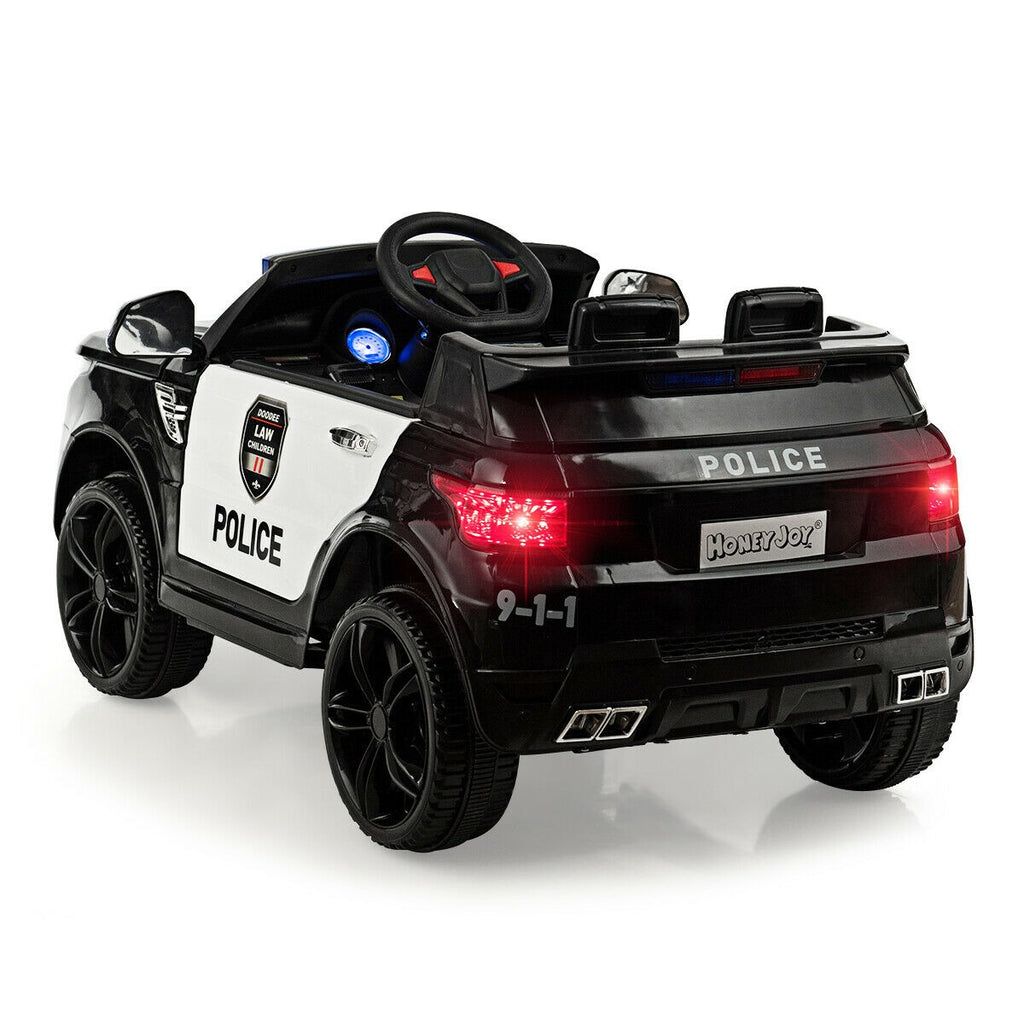 Ride On Electric Toy Police Car 12V Electric System And Remote Control