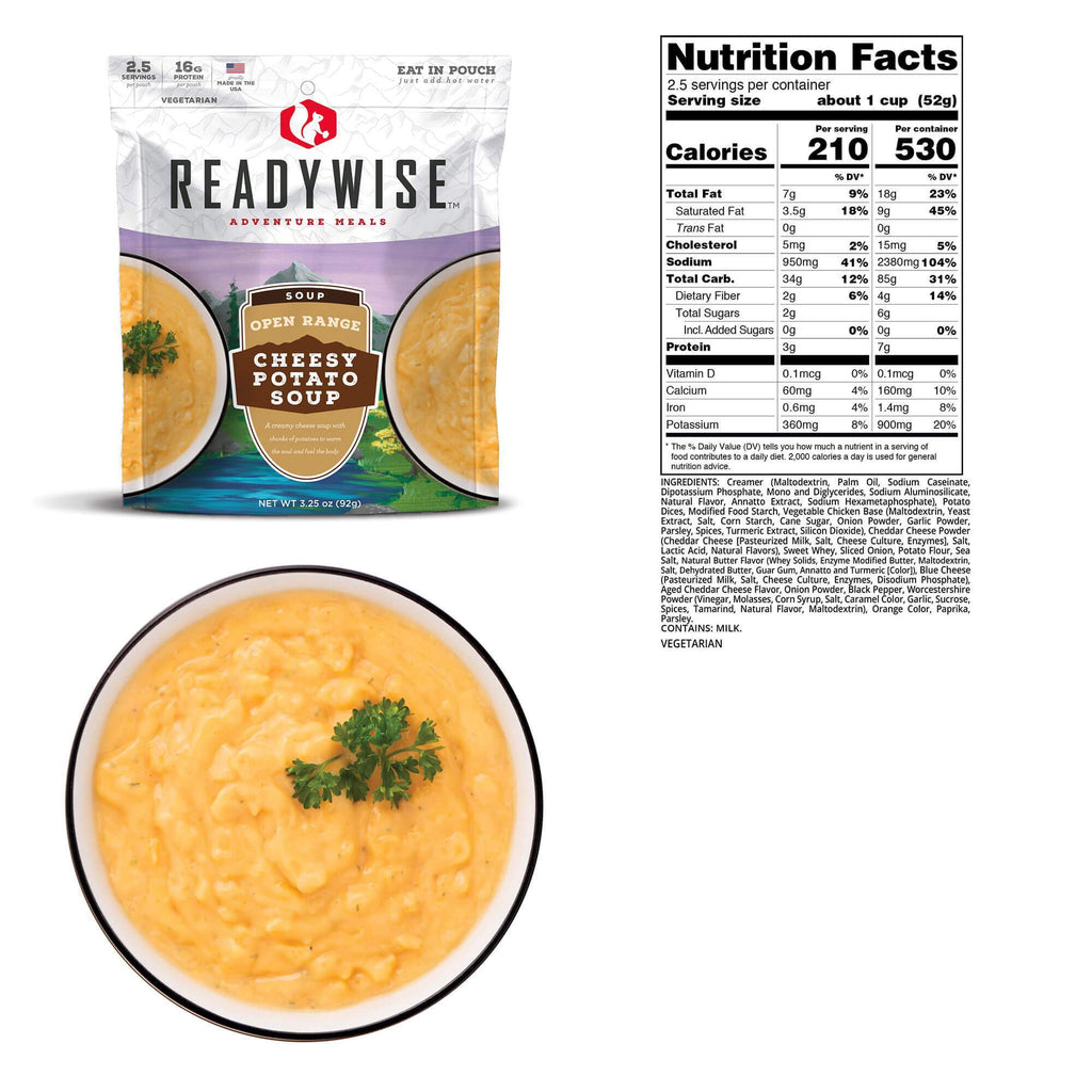 Open Range Cheesy Potato Soup Case of 6