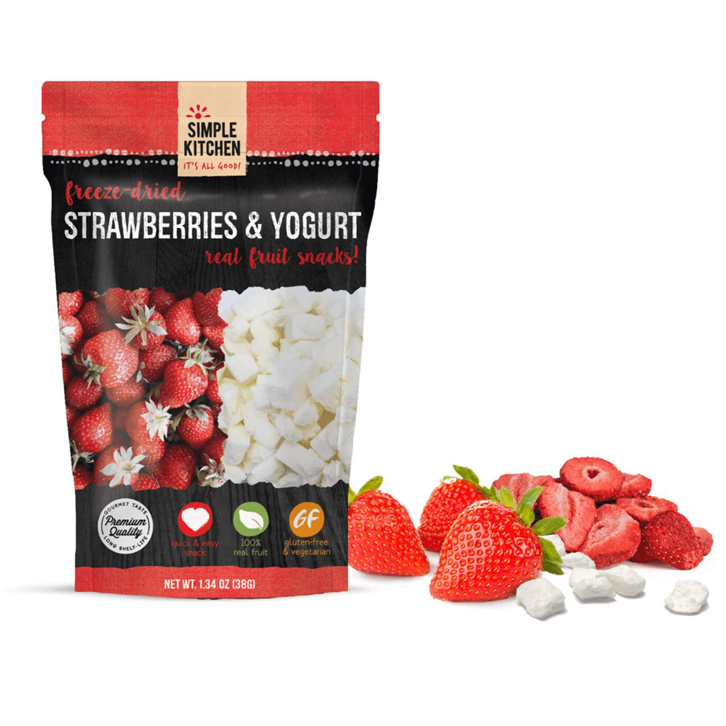 Freeze-Dried Strawberries & Yogurt - 6 Pack