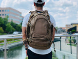 Heavy Duty Urban Go Backpack - Green Camo