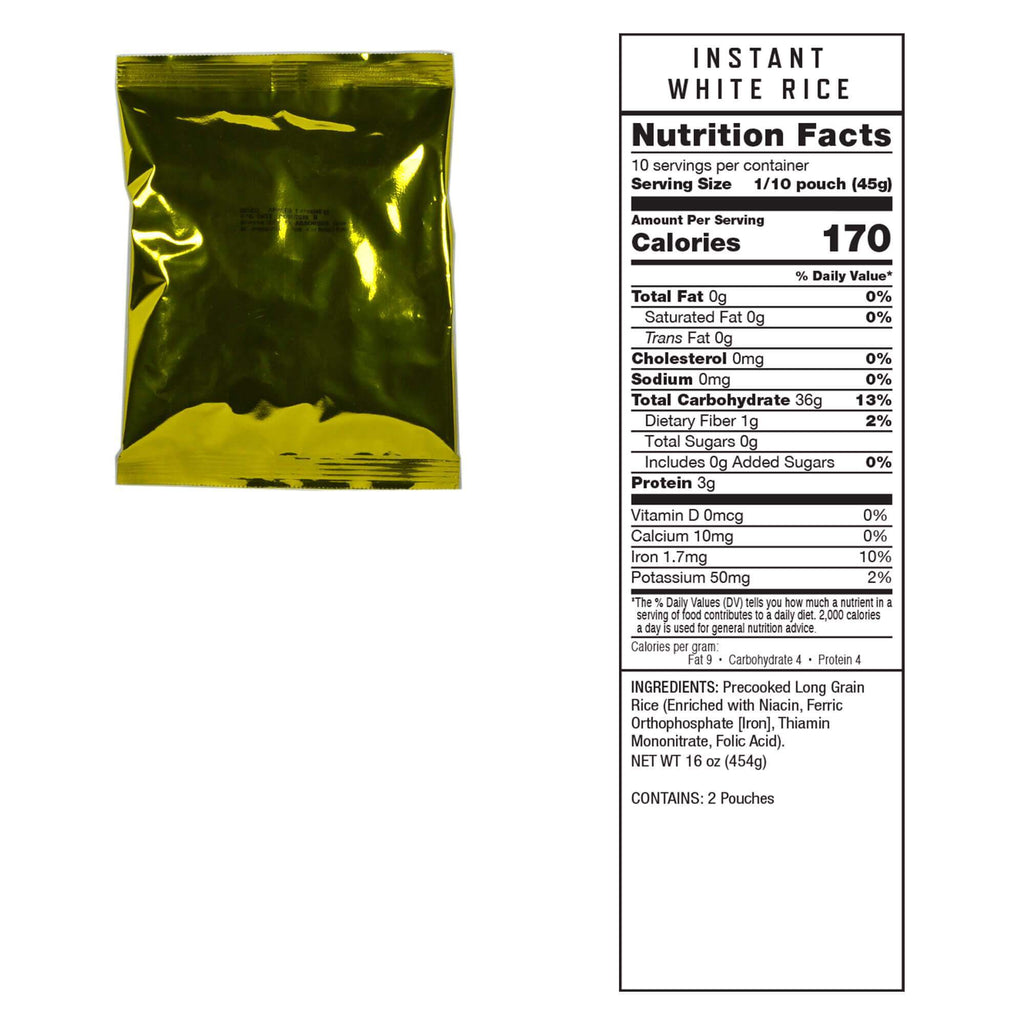 ReadyWise Meat Meal Package - 120 Serving Package