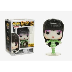 Funko POP! Television: Elvira Mistress of The Dark - Elvira CHASE (Hot Topic)