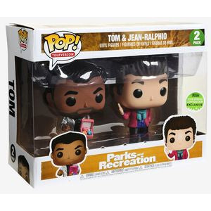 Funko POP! Television: Parks and Recreation - Tom & Jean-Ralpho (2018 Spring Convention)