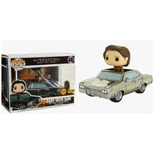 Funko POP Rides! Supernatural: Baby w/ Sam (CHASE) (Hot Topic)