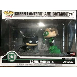 Funko POP! Heroes: Comic Moments - Green Lantern and Batman (Game Stop)