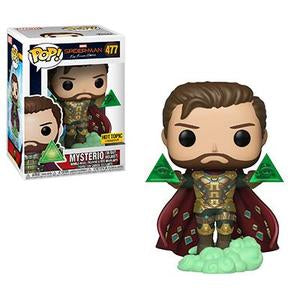 Funko POP! Marvel Spider-Man Far from Home - Mysterio  (Hot Topic)