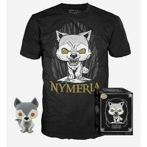 POP! Collector's Box: Game of Thrones Nymeria POP! & T-Shirt